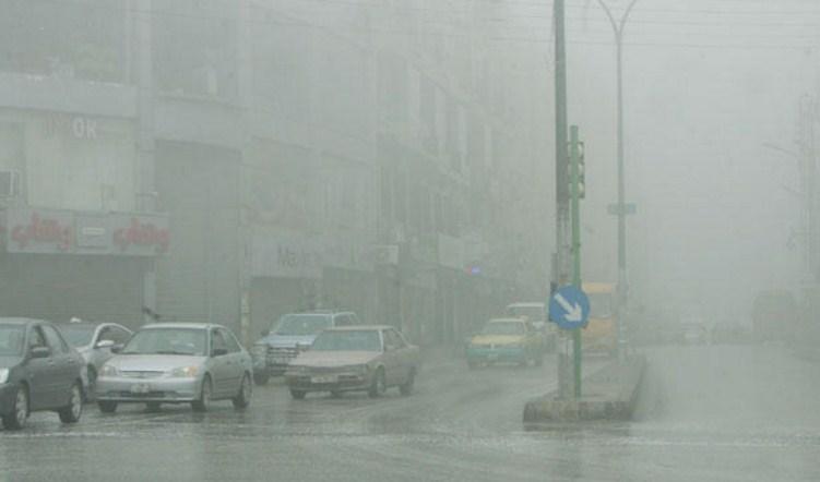 الأرصاد :تساقط الامطار والبرد في معظم مناطق المملكة .. وتحذيرات من تشكل السيول والضباب