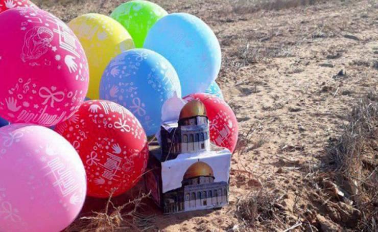 الاحتلال يزعم العثور على بالونات متفجرة على ساحل أسدود