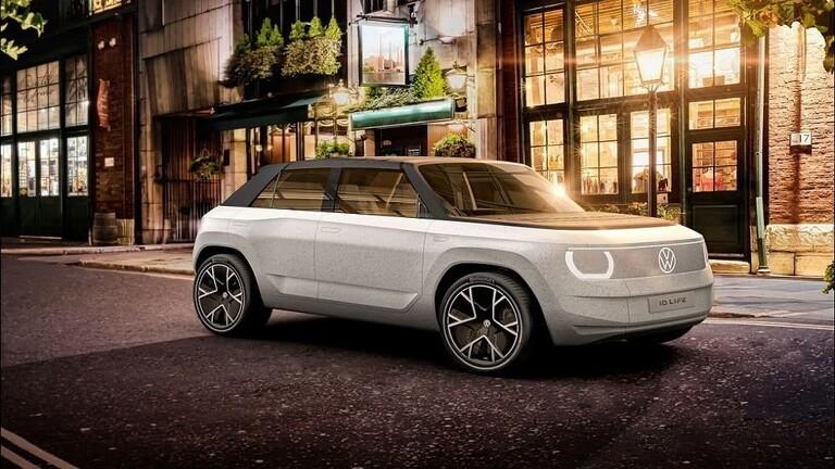 """""""فولكس فاجن"""" تكشف عن أحدث طراز اختباري لسيارة صغيرة تجوب المدينة"""