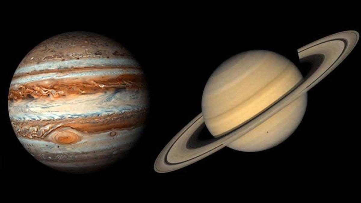 لم تحدث منذ 800 عام ..  العالم يترقب ظاهرة فلكية نادرة بين كوكبي المشتري وزحل