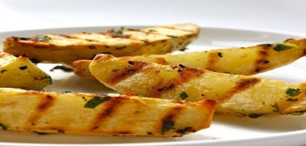 طريقة عمل البطاطا المشوية