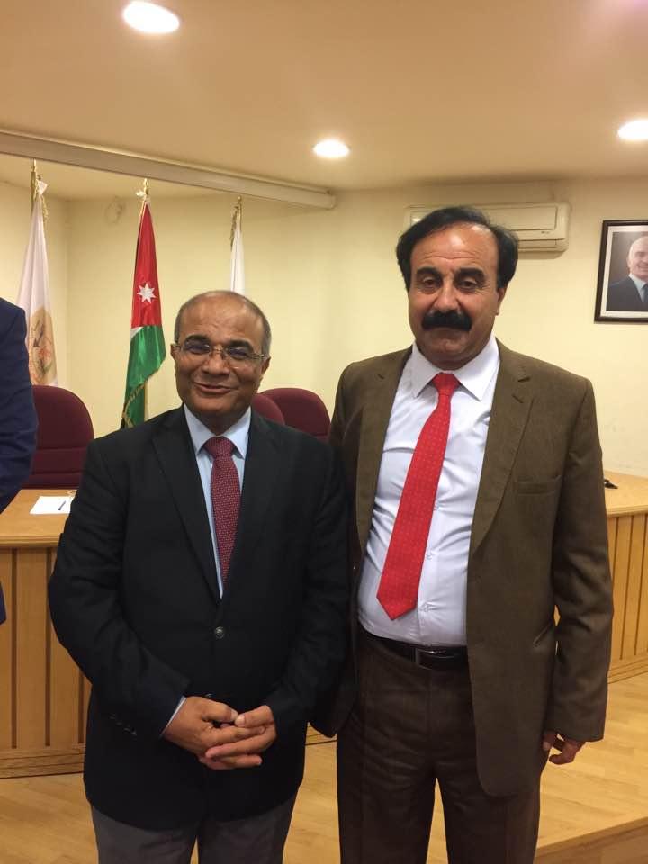 الدكتور تحسين الشرادقة .. مبارك عضوية نقاية الصحفيين