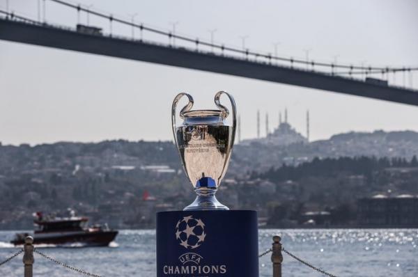 كأس دوري أبطال أوروبا يصل إلى إسطنبول مستضيفة النهائي