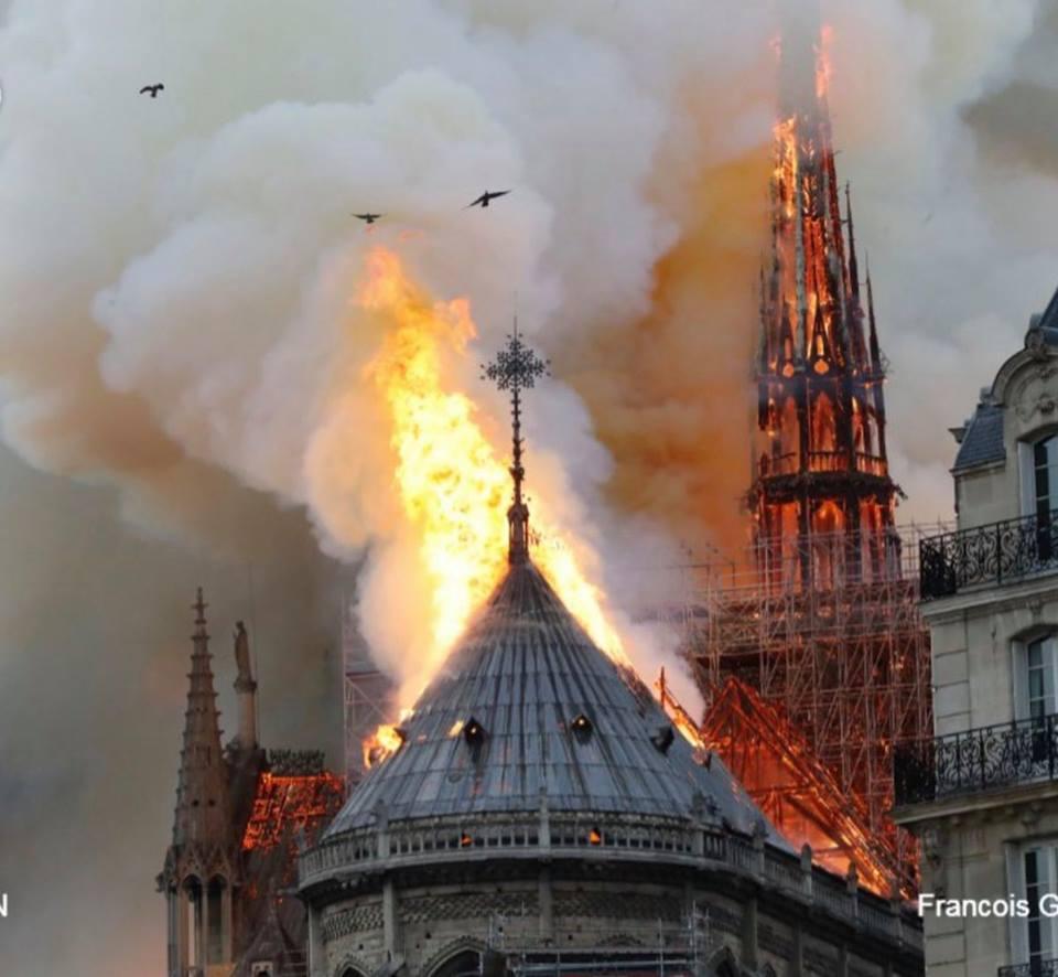 بالصور  .. ملياردير شهير تعهّد ببناء كاتدرائية نوتردام في باريس  ..  تعرف على المبلغ الذي سيُدفعه
