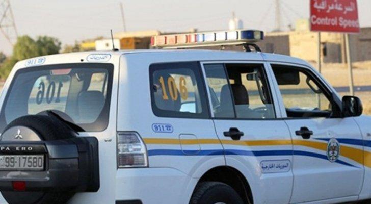 الدوريات الخارجية تسعف مواطنا بعد استغاثته بالدورية في جرش
