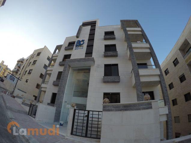 شقة للبيع 100م أرضية خلف الجامعة الأردنية