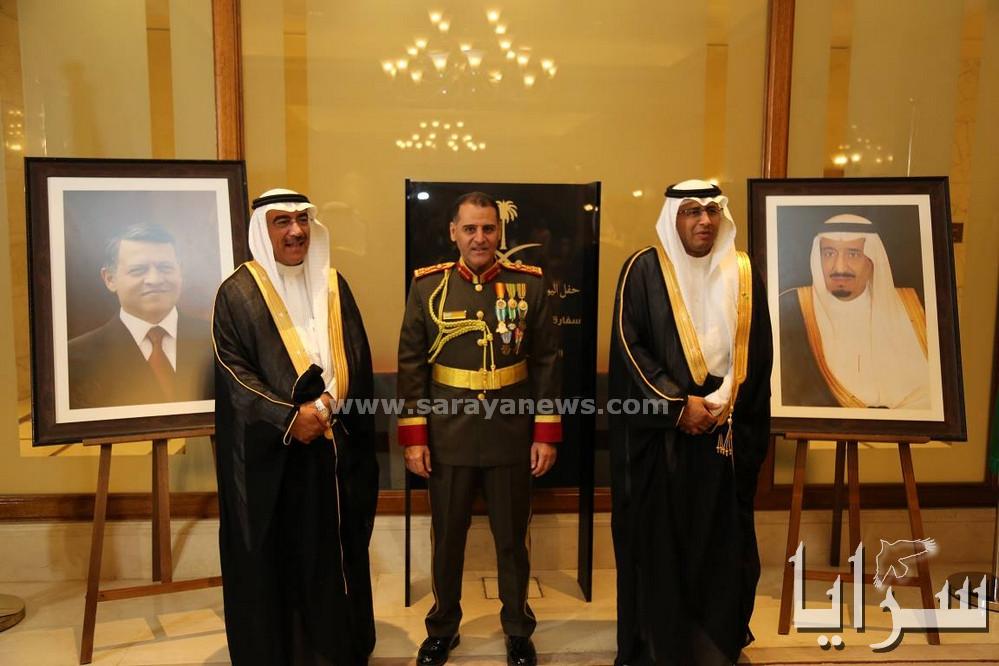الملحقية الثقافيةالسعودية تنظم معرضاً خاصاًفي حفل اليوم الوطني ال 87