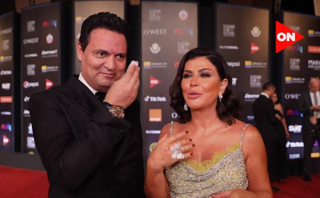 بالفيديو ..  شاهد زوج جمانة مراد في أول ظهور له ..  فبماذا يستمتع؟!