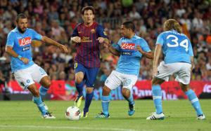 لاعبو برشلونة مهددون بالحجز في إيطاليا بسبب كورونا