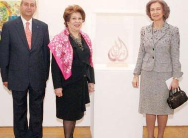 """""""المعرض الفني العربي المعاصر"""" يحتفي بالخط العربي"""