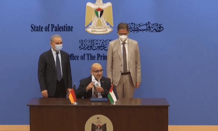 ألمانيا تدعم الفلسطينيين بـ 100 مليون يورو