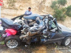 جرش : وفاة شخص  وإصابة (6)  آخرين بحادث تصادم
