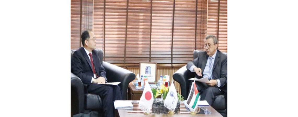اليابان شريك استراتيجي وداعم اساسي للاردن