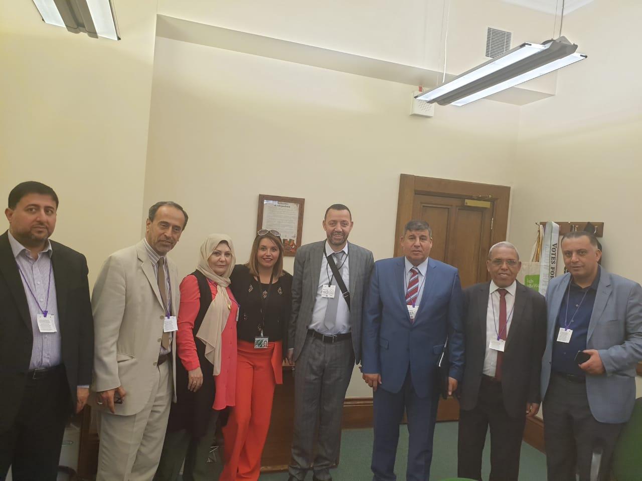 لجنة فلسطين تلتقي حزب الشين فين الايرلندي