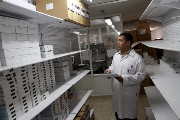 غزة  ..  أزمة نقص الدواء تدخل مرحلة غير مسبوقة منذ بدء الحصار الإسرائيلي