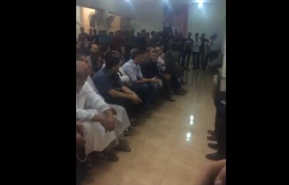 بالفيديو  ..  اهالي حي الطفايلة يجتمعون لتوضيح احداث مستشفى البشير