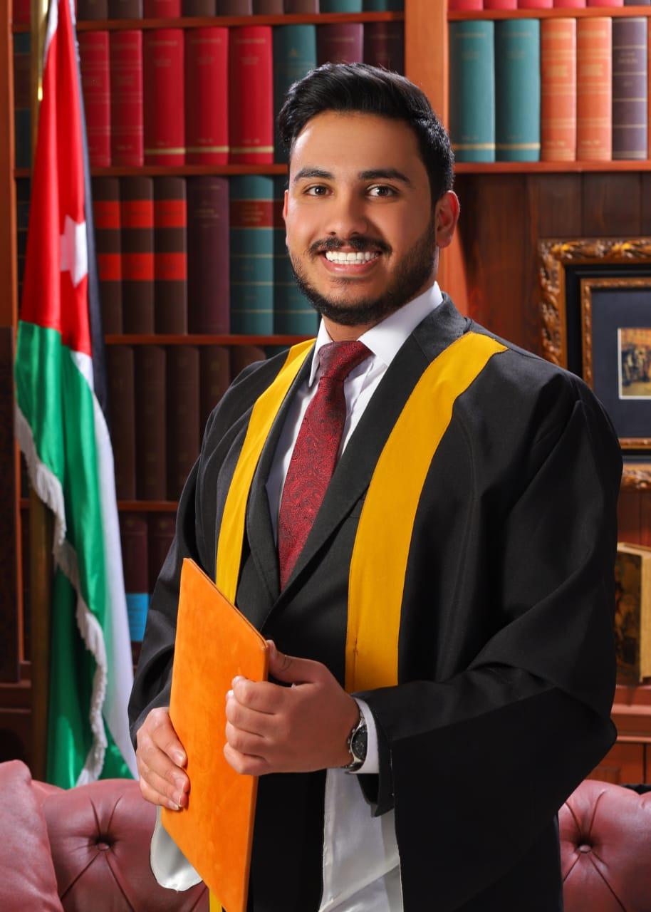 محمد عايد الذيابات  ..  مبارك البكالوريس
