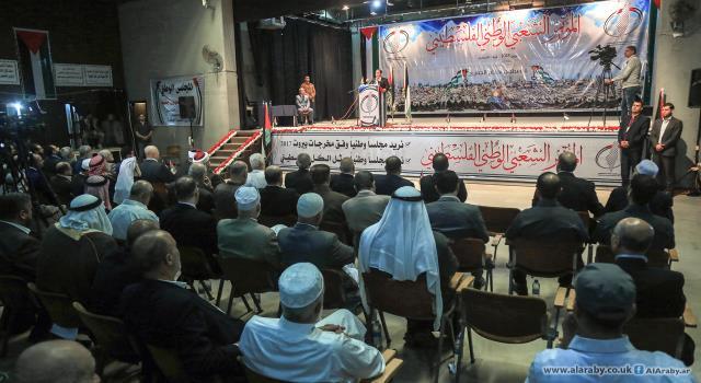 مؤتمر شعبي في غزة رفضا لانعقاد جلسة المجلس المركزي برام الله