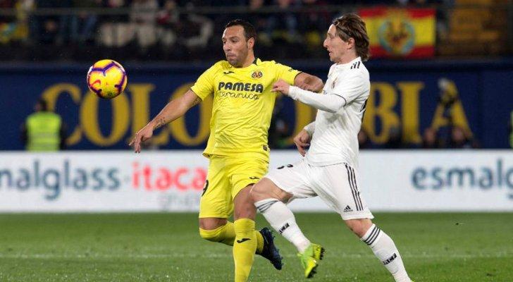 التعادل الإيجابي يحسم مواجهة ريال مدريد و فياريال في الدوري الإسباني