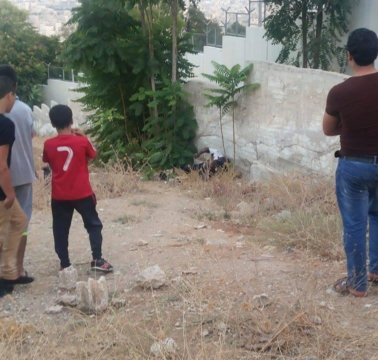 عمّان : العثور على جثة أربعيني قرب مستشفى البشير (صورة)