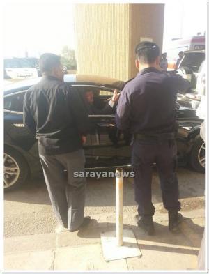 بالصور.. وزير الصحة يصل الى مستشفى الملك عبدالله المؤسس قبل وصول باقي المصابين
