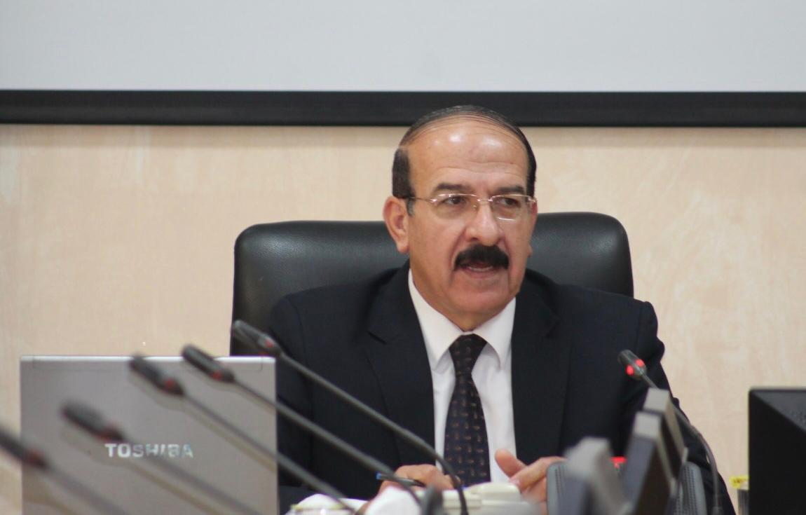 الدكتور ماجد عبدالمهدي مساعده مبارك الترقية