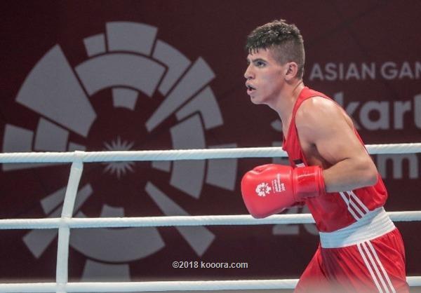 عشيش يحرز برونزية وزن 69 كغم بدورة الألعاب الآسيوية