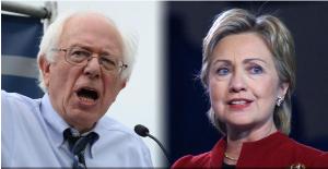 ساندرز يعلن دعمه كلينتون في انتخابات الرئاسة الأميركية