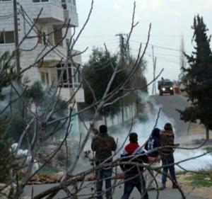 اصابة خمسة شبان في مواجهات مع الاحتلال في سلواد