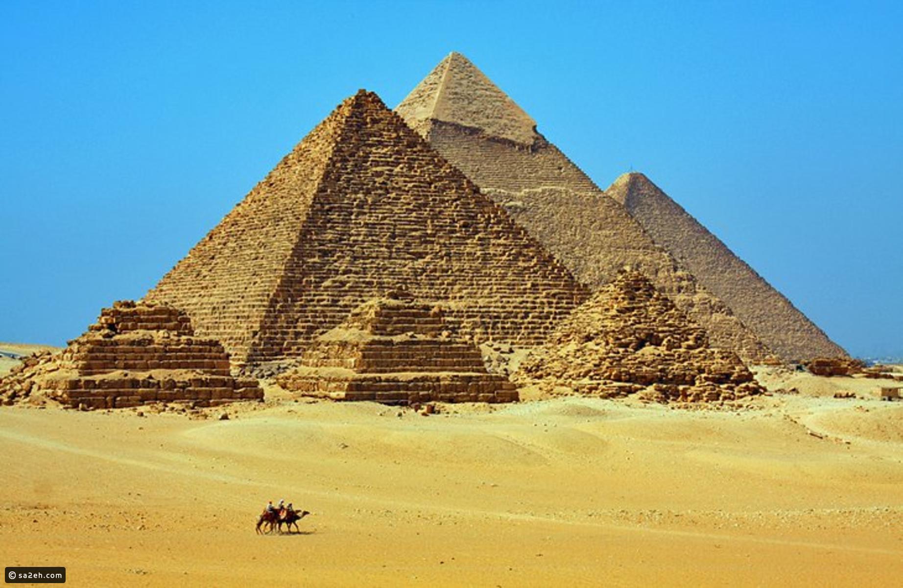 بالصور  ..  تعرفوا على أبرز المعالم السياحية في القاهرة