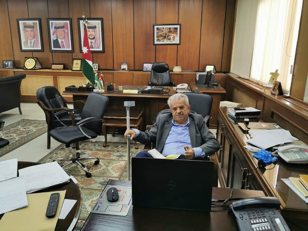 تهنئة بالسلامة لرئيس جامعة اليرموك ا. د زيدان كفافي