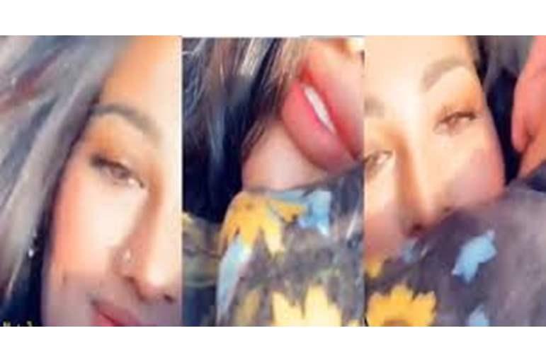 """بالفيديو  ..  بعد اتهامها بخدش الحياء العام  ..  إعلامية عربية تدافع عن """"تقبيل"""" زوجها على الهواء"""