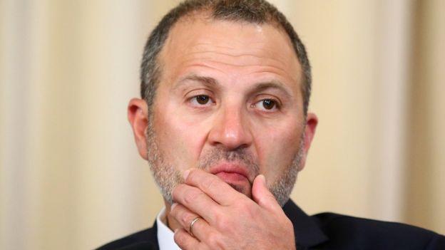 وزير خارجية لبنان يهاجم الاحتجاجات