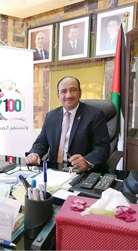 تهنئة لـ الدكتور سعود الحربي بمناسبة تعيينه مساعدا لمحافظ الزرقاء