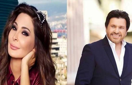 بالفيديو ..  شاهد هاني شاكر يبكي بعد إعلان سرطان إليسا
