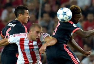 بايرن ميونخ بنهي المباراة في 8 دقائق امام اولومبياكوس اليوناني
