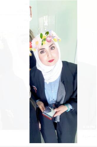المحامية انوار رشيدات تؤدي القسم  ..  الف مبروك