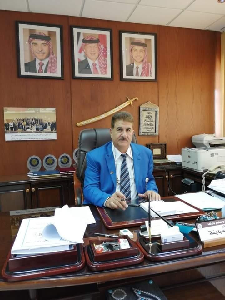 الدكتور ضرار احمد العبابنه مديراً لتربية اربد الاولى