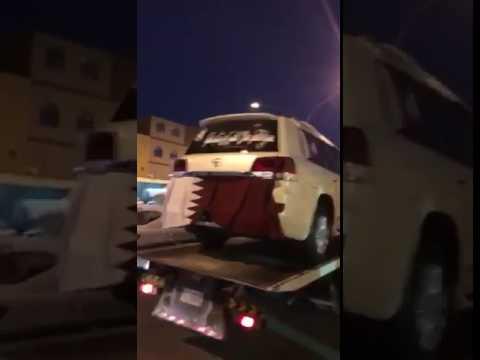 """بالفيديو..سمّى مولودته """"قطر """" فتلقى مركبة فارهة من """"قطر"""""""