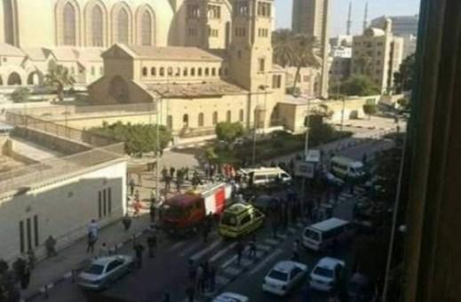 (25) قتيلاً و (42) مصاباً بانفجار قرب كنيسة في طنطا