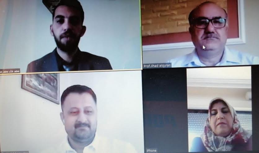 """مناقشة رسالة الماجستير الثامنة عشر عن بعد في """"عمان العربية"""" حول درجة توافر الخصائص الإبداعية لدى الطلبة متذوقي الإبداع في الأردن"""