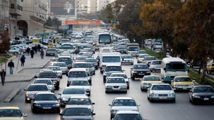 الامن : مركبة واحدة لكل 6 أشخاص في الأردن