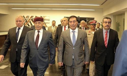 رئيس مجلس النواب الليبي يصل عمّان