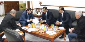 جدول زمني لإقامة المنطقة الصناعية الأردنية العراقية