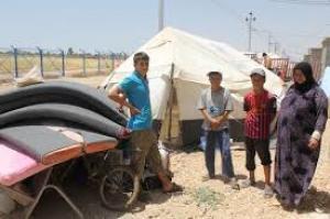 """الحكومة تنوى احضار """"400"""" دراجة هوائية لتسهيل تنقل اللاجئين السوريين بمخيم لزعتري ."""
