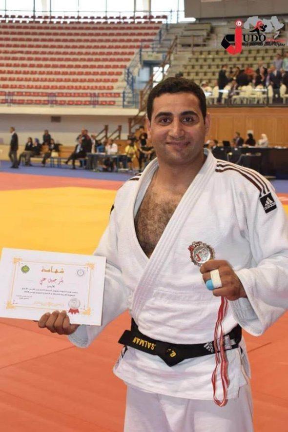 اردني يرفض منازلة إسرائيلي خلال بطولة للجودو في بودابست