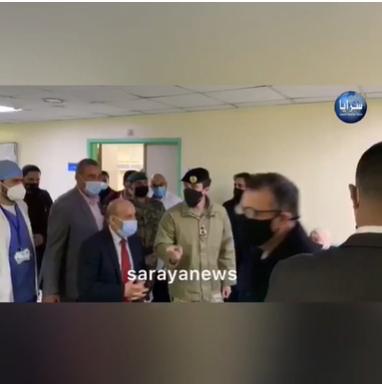 بالفيديو  ..  ولي العهد يقوم بزيارة مفاجئة لمستشفى الجامعة الأردنية