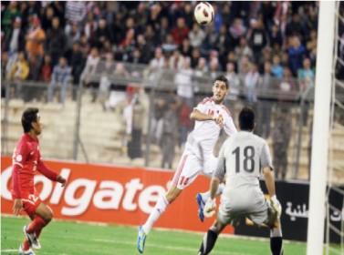 منتخب الكرة يتطلع لبداية قوية أمام سنغافورة في التصفيات الآسيوية