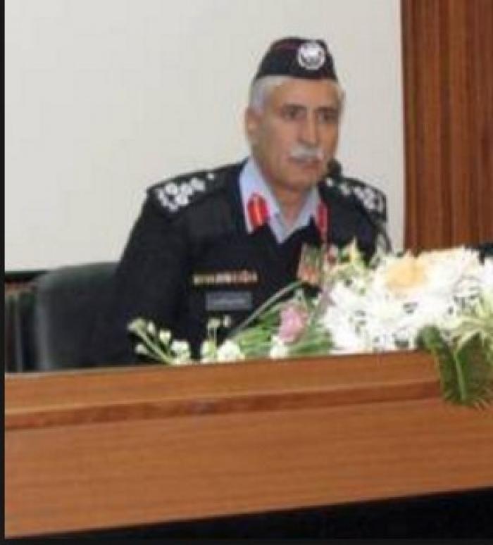 وفاة حسين سالم: وفاة اللواء المتقاعد حسين النوايسة مساعد مدير الامن العام