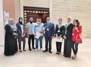 فريق جامعة الزيتونة الأردنية  في المرتبة الثانية في بطولة المناظرات الوطنية